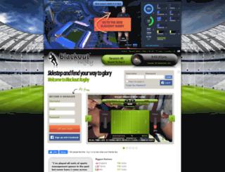 blackoutrugby.com screenshot