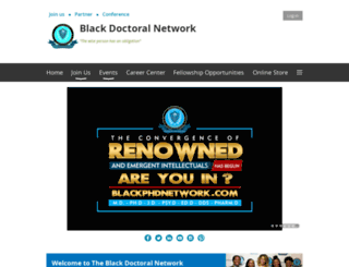 blackphdnetwork.wildapricot.org screenshot