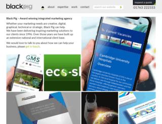 blackpig.co.uk screenshot
