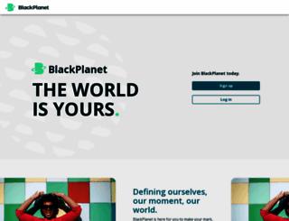 blackplanet.com screenshot