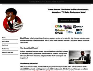 blackpr.com screenshot