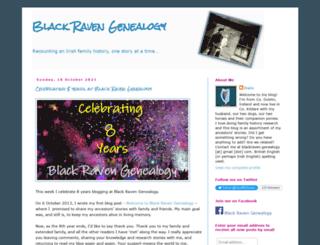 blackravengenealogy.blogspot.ie screenshot