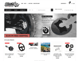 blackrhinoperformance.com screenshot