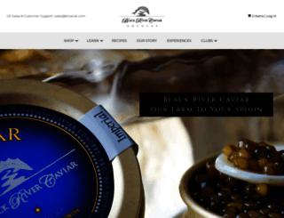 blackrivercaviar.com screenshot