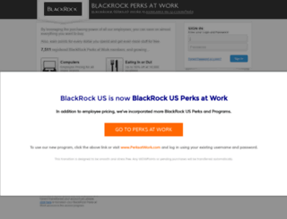 blackrock.corporateperks.com screenshot