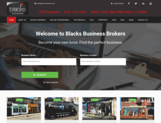 blacksbrokers.com screenshot