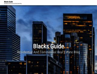 blacksguide.com screenshot