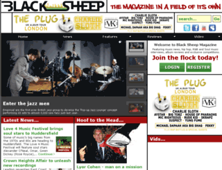 blacksheepmag.com screenshot