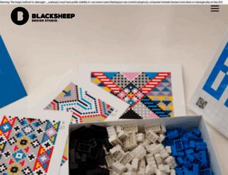 blacksheepstudios.co.za screenshot