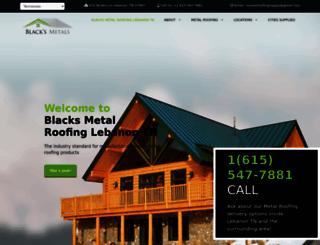 blacksmetals.com screenshot