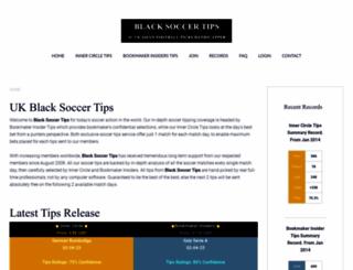 blacksoccertips.com screenshot