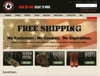 blackstarsurplus.com screenshot