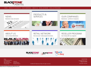 blackstoneonline.com screenshot