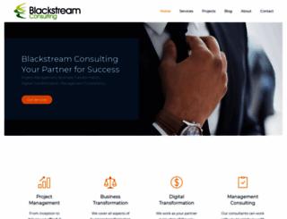 blackstreamconsulting.com screenshot
