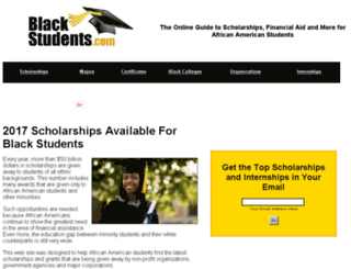 blackstudents.blacknews.com screenshot