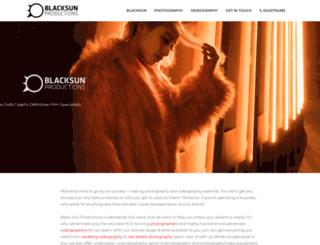 blacksun-productions.com screenshot