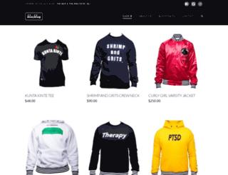blacktagapparel.com screenshot