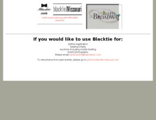 blacktie-missouri.com screenshot
