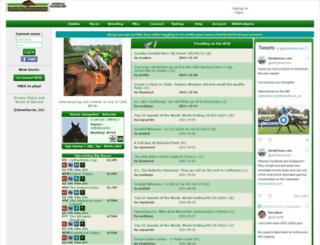 blacktypebugler.com screenshot