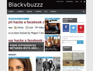 blackvbuzzz.com screenshot
