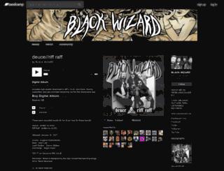 blackwizard.bandcamp.com screenshot