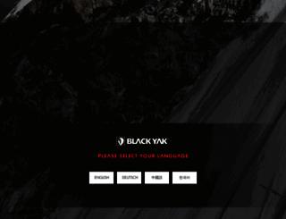 blackyakmall.com screenshot