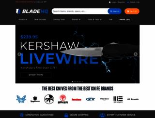 bladehq.com screenshot