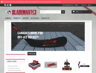blademaster.ca screenshot