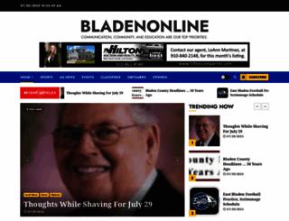 bladenonline.com screenshot