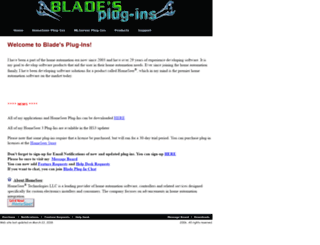 bladeplugins.no-ip.org screenshot