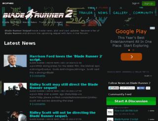 bladerunner2-movie.com screenshot