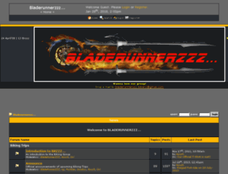bladerunnerz.conforums.com screenshot