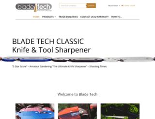 bladetech.co.uk screenshot