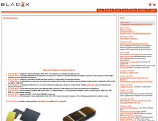 bladox.cz screenshot