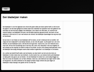 bladwijzer-maken.be screenshot