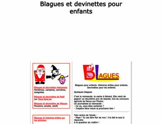 blagues.pour-enfants.fr screenshot