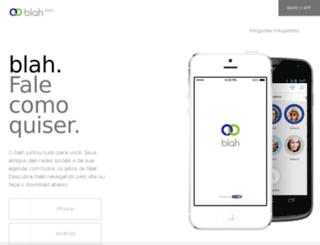 blah.com screenshot
