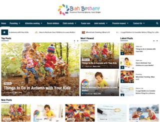 blahbethany.com screenshot