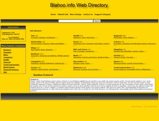 blahoo.info screenshot