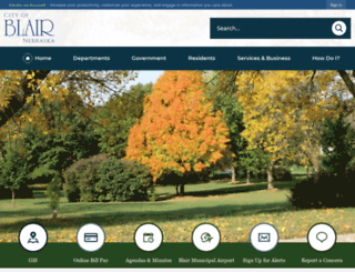 blairnebraska.org screenshot