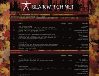 blairwitch.net screenshot