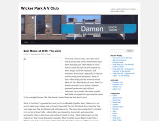 blakenelson09.wordpress.com screenshot