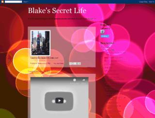 blakessecretlife.blogspot.com screenshot