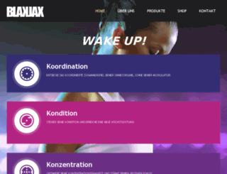 blakjax.de screenshot
