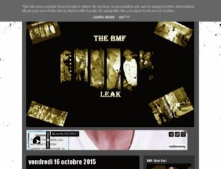 blakmusicfirstleak.blogspot.be screenshot