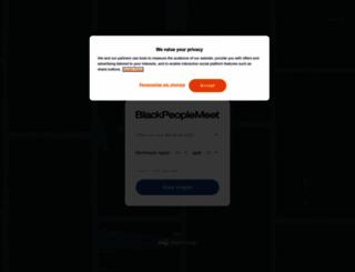 blakpeoplemeet.com screenshot