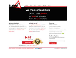 blalert.com screenshot