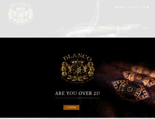 blancocigars.com screenshot