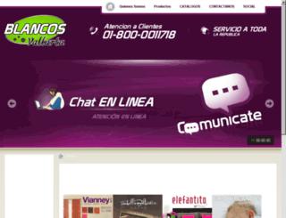 blancosvallarta.com screenshot