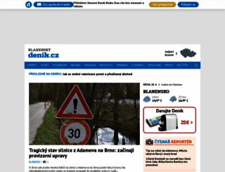 blanensky.denik.cz screenshot